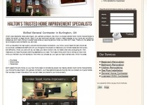 Website Re Design Case Study – Home Renovations