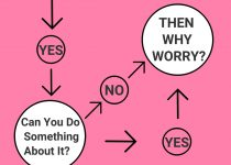 How To Stop Worrying Infographic